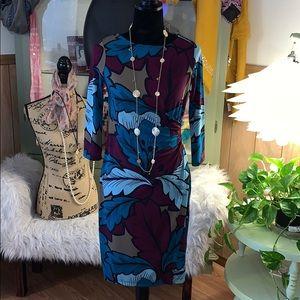 Talbots Faux Wrap Dress Sz SP NWT